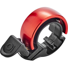 Knog Oi Classic Bike Bell Limited Edition red/black